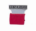Reserved Seat Signs (Aluminum)