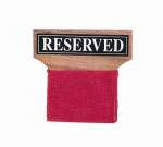 Reserved Seat Signs (Wood)