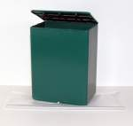 Temporary Urn Containers (Green)