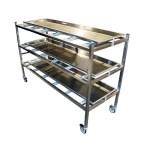 Body Storage Rack - Stainless Steel