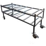 Mortuary Rack - 2 Tier End Loading