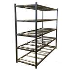 Mortuary Rack - 5 Tier End Loading